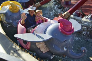 Dumbo Ride Disneyland