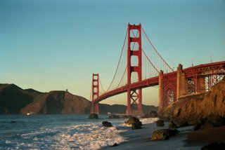 Golden Gate Bridge - San Francisco Breweries