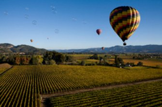 Hot Air Balloon Napa Valley