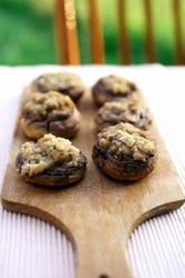 mushrooms stuffed