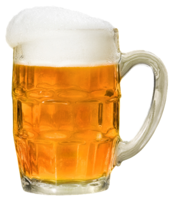 Mug full of beer