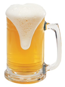 Mug of Beer Overflowing
