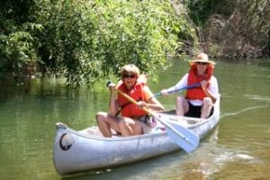 Canoe down the Russian River