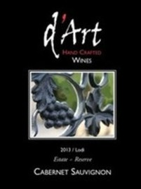 D'Art Wine Label - Lodi Winery