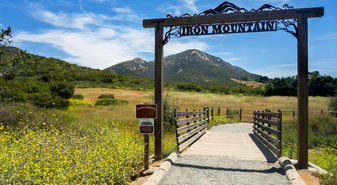 Iron Mountain Trailhead in Poway near San Diego, California