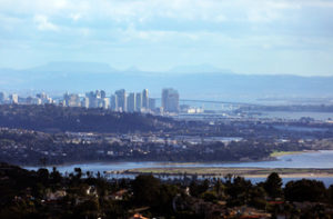 Mount Soledad Downtown San Diego View