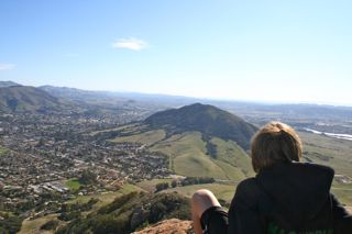 View from Bishop's Peak