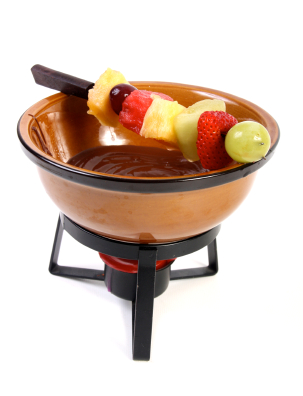 Toblerone Fondue - chocolate