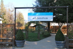 Addendum Take Out Restaurant Yountville