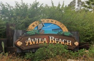 Avila Beach Sign - California