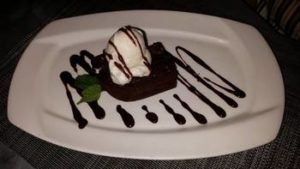 Dessert from Baci Cafe