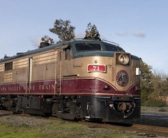 St. Helena Wineries - Napa Wine Train