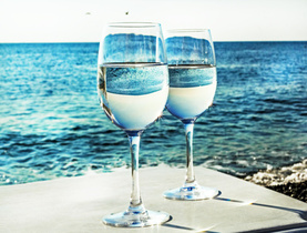 Ocean Wine Glasses