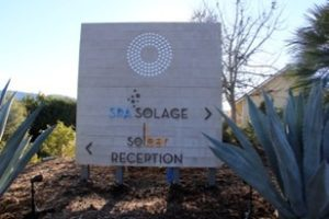 Spa Solage Calistoga